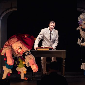Doktor Faust foto z inscenácie