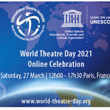 Svetový deň divadla leták